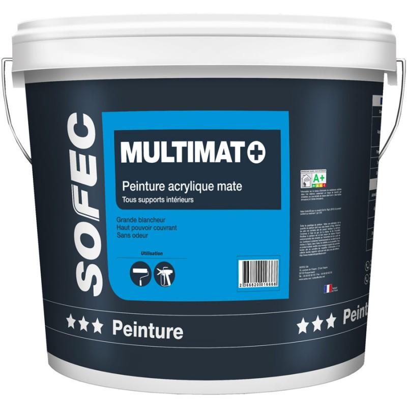 Vente peinture acrylique mate lavable for Peinture lavable